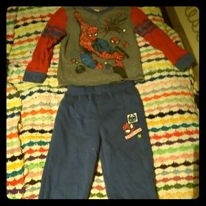 2 PC Spiderman Outfit